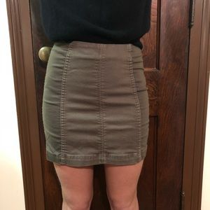 Free People Two-Toned Skirt